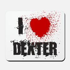 I Splatter Dexter Mousepad