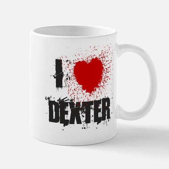 I Splatter Dexter Mug