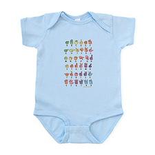 PAS Fingerspelled ABC Infant Bodysuit