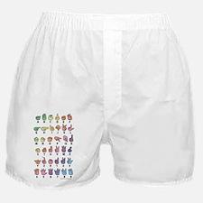 PAS Fingerspelled ABC Boxer Shorts