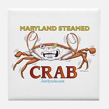Maryland Steamed Crab Tile Coaster