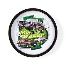 Money Maker Racing Wall Clock