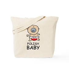 Polish Baby Tote Bag