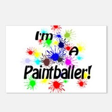 Paintballer Postcards (Package of 8)