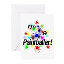 Paintballer Greeting Cards (Pk of 10)