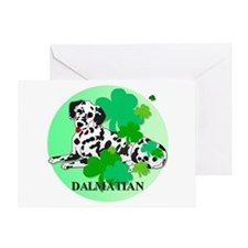 Irish Dalmatian Greeting Card