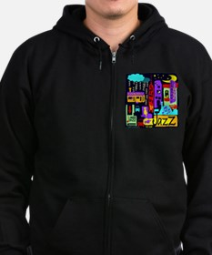 Jazz Nights Zip Hoodie