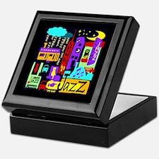 Jazz Nights Keepsake Box