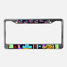 Jazz Nights License Plate Frame