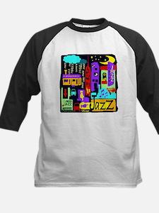 Jazz Nights Kids Baseball Jersey