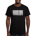 Climber Bar Code Men's Fitted T-Shirt (dark)
