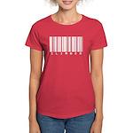 Climber Bar Code Women's Dark T-Shirt