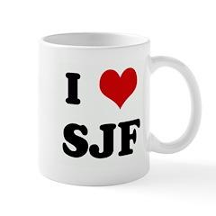 I Love SJF Mug