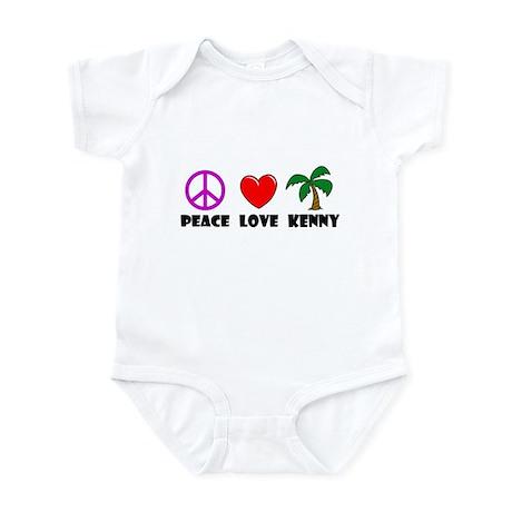 Peace Love Kenny Infant Bodysuit