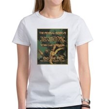 2-Cain and Abel green background T-Shirt