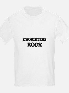 CHORISTERS ROCK Kids T-Shirt