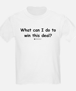 What can I do? Kids T-Shirt
