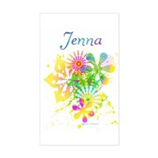 Jenna Rectangle Decal