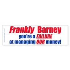 Frankly Barney (Bumper Sticker )