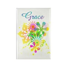 Grace Rectangle Magnet