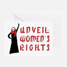 Islamic Feminist Greeting Card