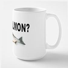 Gut Salmon, GUT FISH Large Mug