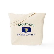 Montana-Big Sky Tote Bag