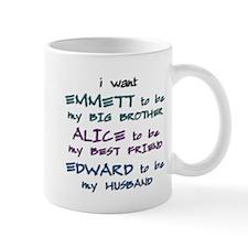 Unique Emmett cullen Mug