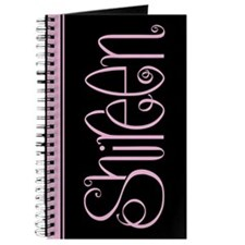 Shireen pink black Journal