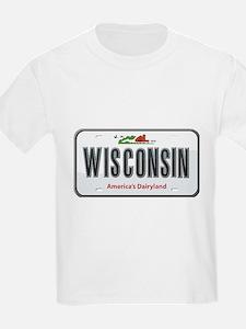 Wisconsin Plate T-Shirt