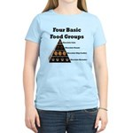 Four Basic Food Groups Women's Light T-Shirt