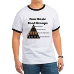 Four Basic Food Groups Ringer T