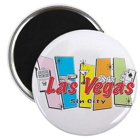 Las Vegas Sin City Magnet