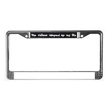 Cute Vampir License Plate Frame