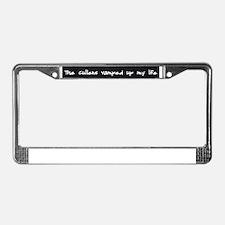 Unique Cullen License Plate Frame