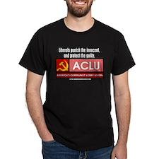 Libs Punish Innocent Black T-Shirt