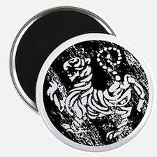 vintage shotokan karate tiger Magnet