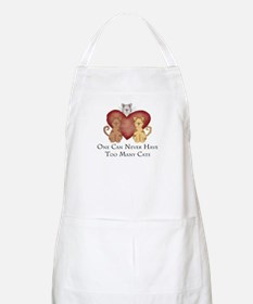 Too Many Cats BBQ Apron