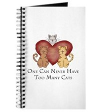Too Many Cats Journal