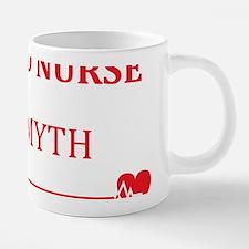 Retired Nurse, Attitude T-s 20 oz Ceramic Mega Mug