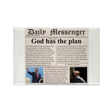 God's bailout plan Rectangle Magnet