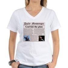 Women's V-Neck Christian T-Shirt
