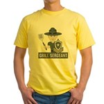 Grill Sergeant Yellow T-Shirt