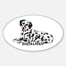 Cartoon Dalmatian Decal