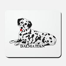 Cartoon Dalmatian Mousepad