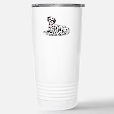 Cartoon Dalmatian Travel Mug