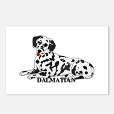 Cartoon Dalmatian Postcards (Package of 8)