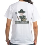Grill Sergeant White T-Shirt