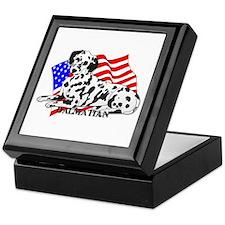 Dalmatian USA Keepsake Box