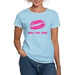 Kiss the Chef Women's Light T-Shirt